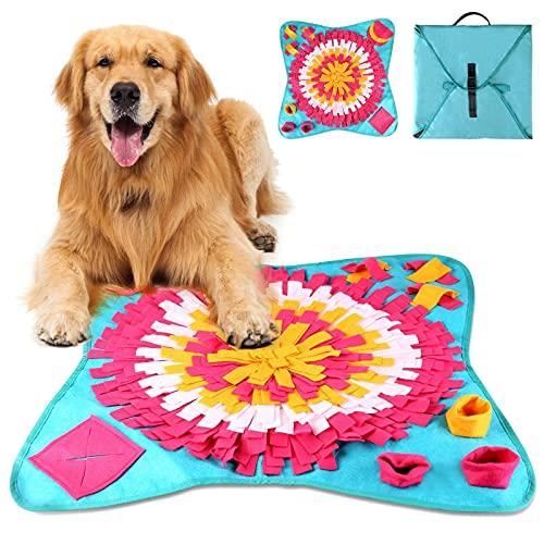 NA Alfombra para perros lavable, plegable, juguete para adicción, juguete inteligencia, manta para olores, entrenar, para mascotas y perros