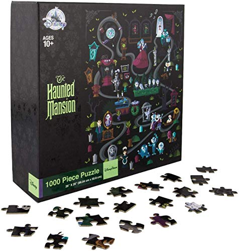 Disney Parks Haunted Mansion Attraction Puzzle - 1000 Pieces