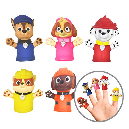 Paw Patrol Puppets are the right size for toddler Easter basket stuffers