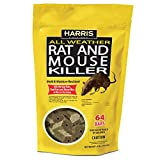 HARRIS Rat & Mouse Killer, 64 Pack Bait Bars