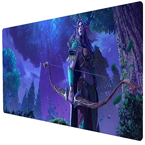 Beymemat Large Gaming Mouse Pad, Extended Size 35.4x15.7IN Desk Pad Keyboard Mat for Office & Home (90x40 sheshou063)