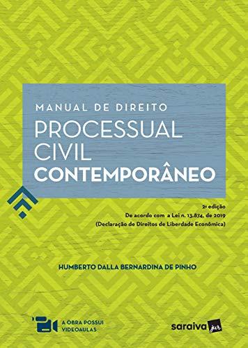 Manual de Direito Processual Civil Contemporâneo - 2ª Edição de 2020