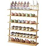 XBDD Estante de zapatos moderno inclinado multi-capa zapatero, gabinete pequeño...