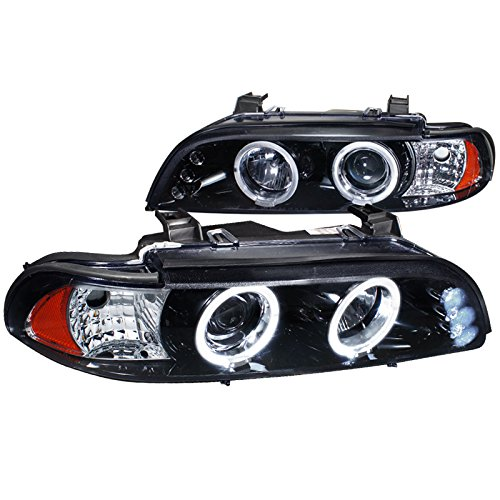 BMW LED Headlight E39: Amazon.com Halo Led Projector Headlights Wiring Installation on