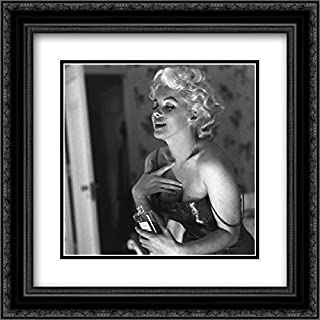 Marilyn Monroe Chanel No. 5 20x20 Double Matted Black Ornate Framed Movie Star Poster Art Print