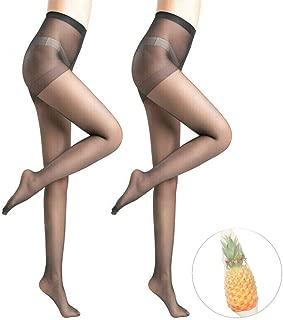 2pcs Anti-Cut Pineapple Stockings,Anti-hook Flexible Comfortable Unbreakable Stockings,Elastic Magical Tights Skinny Silk Pantyhose