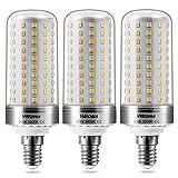 Wedna E14 Bombillas LED de Maíz, 20W Blanco Cálido 3000K, 2000Lm, 150W Incandescente Bombillas Equivalentes, No regulable - 3 unidades