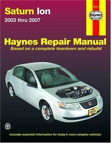 Saturn Ion 2003-2007 (Automotive Repair Manual) by Ken Freund (2007-11-15)