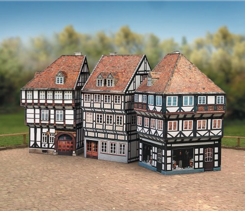 Aue Verlag 10 x 10 x 16 cm Old Town Set Modellbausatz (2-teilig)