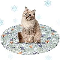 ペットひんやりマット クールマット 冷却シート ひえひえ爽快 犬猫用 熱中症 暑さ対策 夏用多用途人間ペット両用