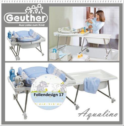 Geuther Aqualino / 4830 017 Plan à langer / Bassin