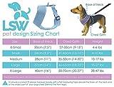 Hundegeschirr für Kleinhunde, damit er nicht zieht – Atmungsaktiv, aus Baumwolle, getupftes Muster – Vielfalt an Farben und Größen Schwarz Klein - 5