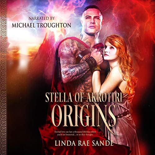 Stella of Akrotiri: Origins: An Ancient Greek Tale of Immortals audiobook cover art