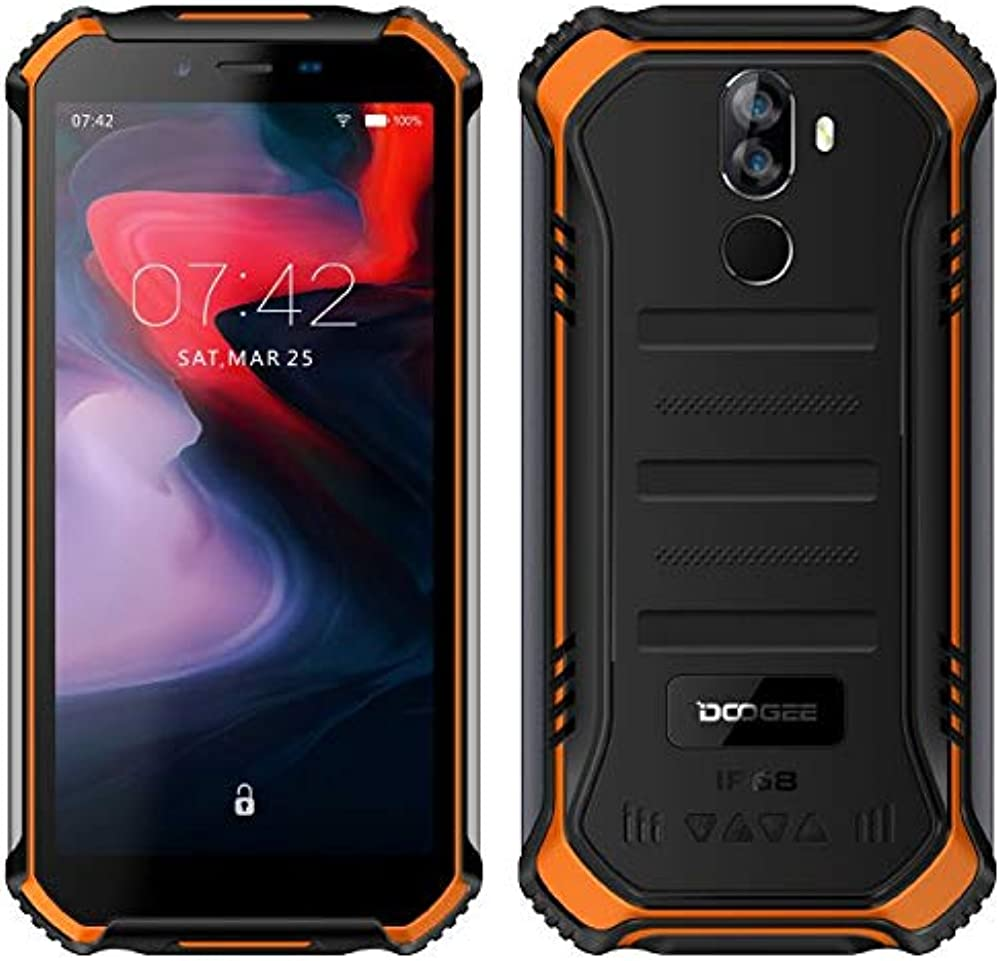 Doogee s40 (3gb + 32gb) robusta 4g android 9,0 rugged smartphone in offerta S40 32G ORANGE