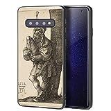 Berkin Arts Albrecht Durer Custodia per Samsung Galaxy S10/Custodia per Cellulare Art/Stampa giclée UV sulla Cover del Telefono(El gaitero)