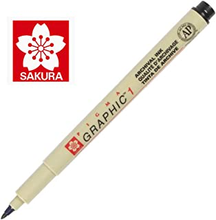 Sakura Pigma Graphic Pen 1.0 mm [Pack of 12 ]
