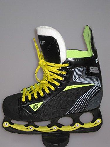 GRAF Super 103 V2 Skate mit T - Blade System Black Edition - Gr. 6,0, Weite :R = Regular, Größe:6 = 39 1/3