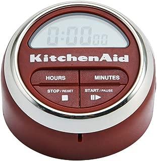 KitchenAid Digital Kitchen Timer, Red