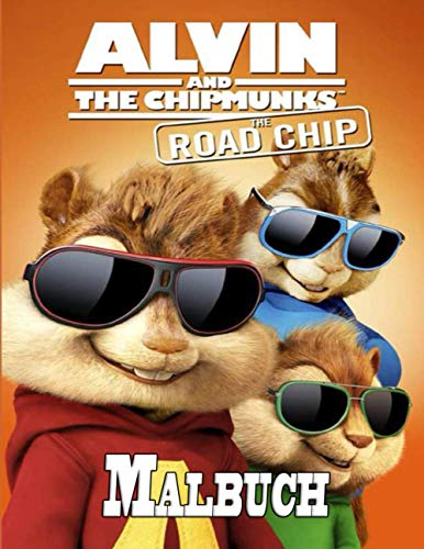 Alvin and The Chipmunks Malbuch