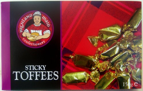 Scottish Sticky Butter Toffee Highland Maid 150g