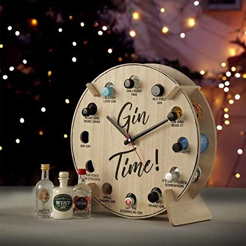 Photo of Gin Christmas Advent Clock 2020