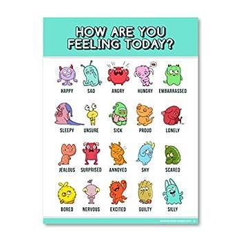 kids emotion chart