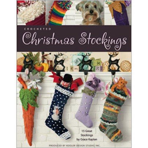 Crocheted Christmas Stockings (English Edition)