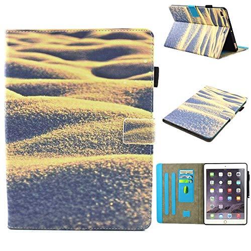 RZL Pad y Tab Fundas para iPad Mini 1 2 3 4 5, Carta Estuche de impresión Folio Flip Anti Dust Portada a Prueba de Impermeables Decoración de la Tableta para iPad Mini 1 2 3 4 5 (Color : Sand)