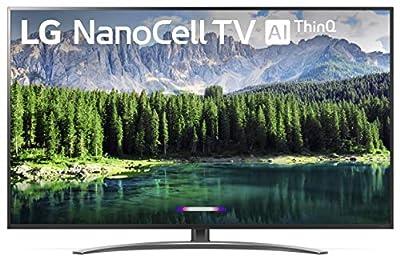 "LG 75SM8670PUA Nano 8 Series 75"" 4K Ultra HD Smart LED NanoCell TV (2019) from LG"
