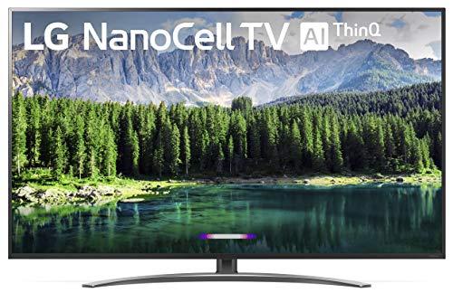 "LG Nano 8 Series 75SM8670PUA TV, 75"" 4K UHD Smart LED NanoCell, 2019 model"