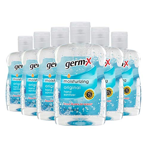 Germ-X Original Hand Sanitizer Pack of 6 – IN STOCK ON AMAZON!