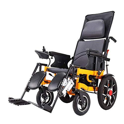 Wheelchair,Electric Wheelchair Folding Collapsible Lightweight Elderly Elderly Disabled Intelligent Fully Automatic Four-Wheeled ScooterWheelchair
