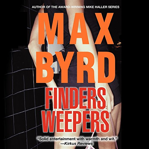 Finders Weepers audiobook cover art