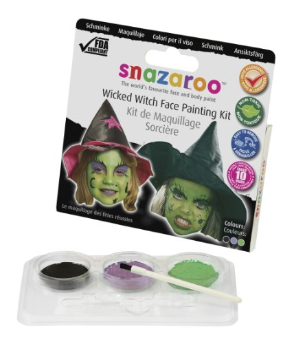 Snazaroo Kit de Maquillage Sorcière (Wicked Witch Theme Pack)