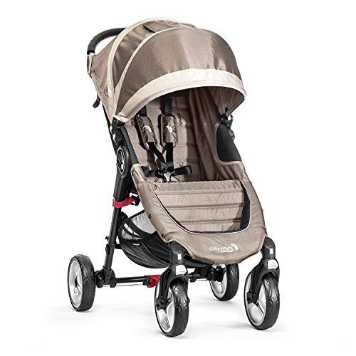 Baby Jogger City Mini 4 - Silla de paseo, color arena/piedra