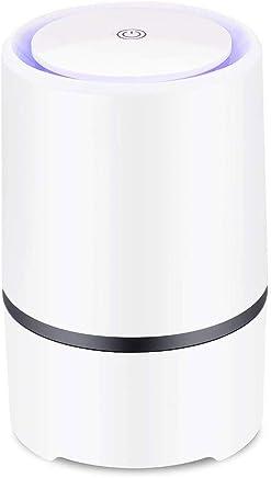 BUTEFO 空気清浄機 小型 卓上 空気清浄機 花粉 タバコ ホコり トイレ ペット 生活臭 除菌 脱臭 静音 省エネ 適用面積10畳 ホーム/オフィス/トイレなど適用