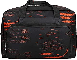TOOGOO Unisex Portable Large Capacity NylonTravel Bag for Men Women Casual Totes Sewing Machine Tools Male Shoulder Handbags Orange