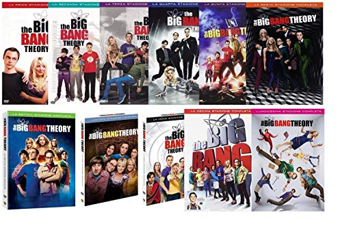 THE BIG BANG THEORY - STAGIONI DA 1 A 11 (34 DVD) COFANETTI SINGOLI, ITALIANI