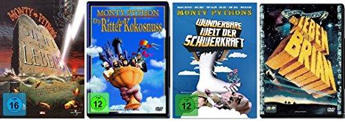 Monty Python Klassiker Collection - 4 Kultfilme im Set - Deutsche Originalware [4 DVDs]