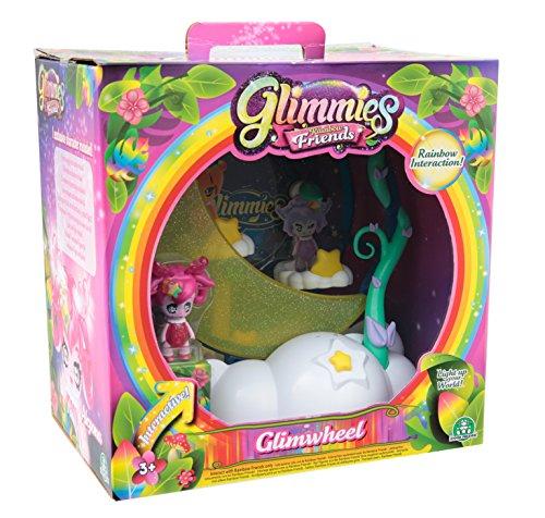 Giochi Preziosi - Glimmies Rainbow Friends Glimwheel con Mini Doll Esclusiva