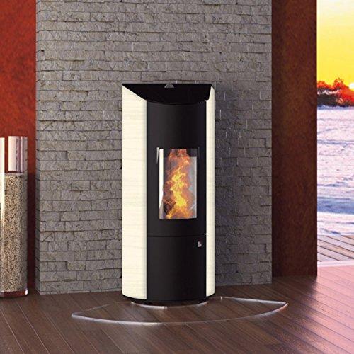Olsberg O431489 pelletkachel Levana staal zwart/koffie Freddo 6 kW