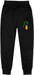 Kids' Cotton Sweatpants Godzilla King of Monsters Posters Casual Pull-On Fleece Jogger Pants