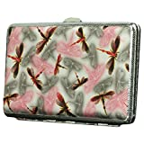 Colourful Dragonfly Extended Cigarette Case Exquisite Cig Holder Box Smoking Set