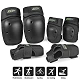 Everwell Protective Knee Pads Set, Protective Gear Set with Knee Elbow Wrist Pads for Kid Children Teenager...