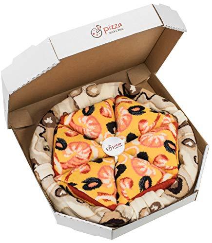 Rainbow Socks - Vrouwen Mannen - Pizza Sokken Box Frutti di Mare - 4 Paar