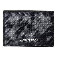 [マイケルコース] MICHAEL KORS カードケース 名刺入れ メンズ 36u9lgfd8l [アウトレット品] [ブランド] [並行輸入品] (BLACK)