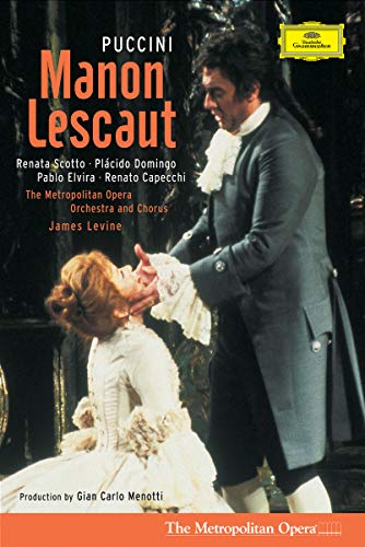 Puccini - Manon Lescaut / Scotto, Domingo, MET, Levine, Menotti (Coffret 2 DVD)
