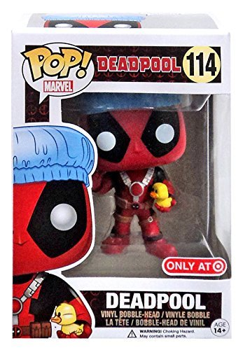 POP! Funko Marvel Bath Time Deadpool Exclusive 114 Vinyl