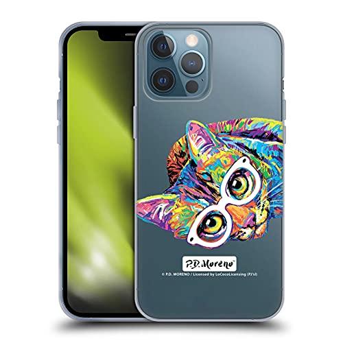 Head Case Designs Licenciado Oficialmente P.D. Moreno Gatito 11 Gatos Carcasa de Gel de Silicona Compatible con Apple iPhone 13 Pro MAX