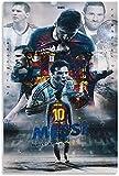 Puzzle 300 Piezas Rompecabezas para Adultos Niños La estrella del juego de pelota Lionel Messi, 300 Piece 15.7x11inch(40x28cm) Sin Marco